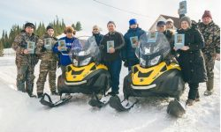 Snowmobiles Start Churches In Russia